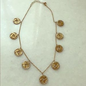 "Anna Beck ""Coin"" necklace"